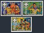 Aitutaki 284-286, 287 ac sheet