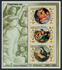 Aitutaki 315-317, 318 ac, 319-321 sheets