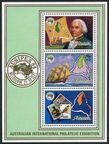 Aitutaki 351-353, 354 ac sheet