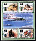 Aitutaki 531 ad, 532 sheets