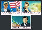 Ajman 445-447, Bl.122A-124A