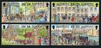 Alderney 119-126a pairs