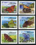 Alderney 313-318, 318a sheet