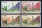Andorra Fr 147, 148, 150, 165