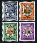 Andorra Fr 161-164 mlh