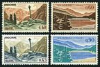 Andorra Fr 165-166, 165A-166A mlh