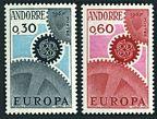 Andorra Fr 174-175