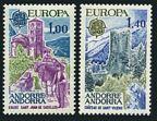 Andorra Fr 254-255