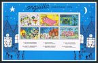 Anguilla 265-270, 270a sheet