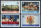 Anguilla 315-318, 318a sheet