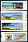 Anguilla 315-318, 3 booklets
