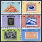 Anguilla 349-354, 354a sheet