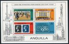 Anguilla 371-374, 374a sheet
