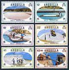 Anguilla 381-386, 386a sheet