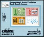 Anguilla 391-393, 393a sheet