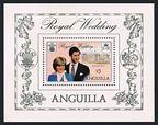 Anguilla 444-446 gutter, 447
