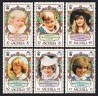 Anguilla 485-490, 491