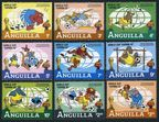 Anguilla 492-500, 501 sheet