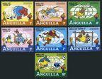 Anguilla 492-498 short set