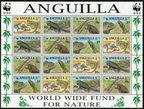 Anguilla 968a-968d strip
