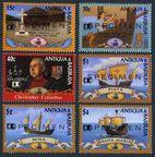 Antigua 1571-1576, 1577-1578 SPECIMEN