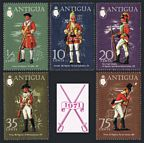 Antigua 274-278, 278a sheet