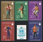 Antigua 283-287, 287a sheet