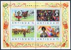 Antigua 312-315, 315a sheet