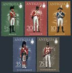Antigua 329-333, 333a sheet