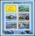 Antigua 373a sheet