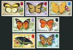 Antigua 387-393, 393a sheet