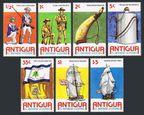 Antigua 423-429, 430