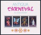 Antigua 472-476, 476a sheet