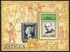 Antigua 528-531, 532 sheet