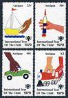 Antigua 537-540, 541