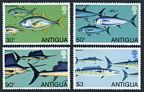 Antigua 542-545, 546