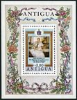Antigua 584-585 sheets/9, 586