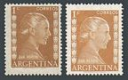 Argentina 599 x 2 color, mlh