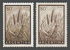 Argentina 634 x 2 paper