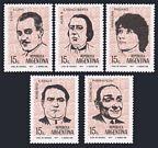 Argentina 953-957