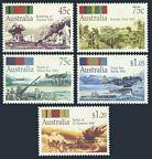 Australia 1253-1257