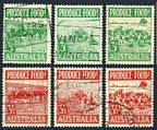 Australia 250-255 used