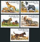 Australia 727-731