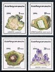 Azerbaijan 419-422, 422a sheet