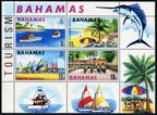 Bahamas 293a sheet