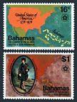 Bahamas 392-393, 393a sheet