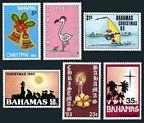 Bahamas 547-552 mlh