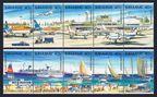 Bahamas 634-635 ae strips