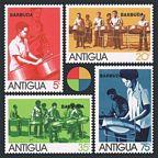 Barbuda 156-159, 159a sheet