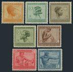 Belgian Congo 88-91, 93-94, 98 (7)
